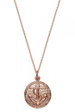 Münzkette Anker - 925 Sterlingsilber