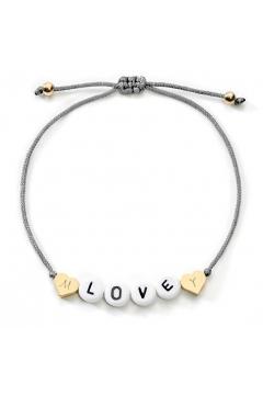 Love Armband mit Diamantgravur