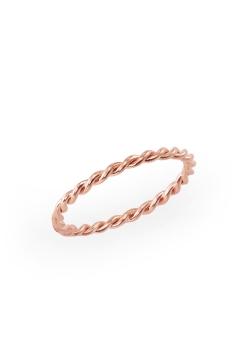 Gedrehter filigraner Ring - 925 Sterlingsilber