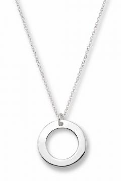 Gravierbare russische Ringkette - 925 Sterlingsilber