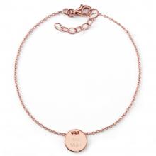 "Gravur-Armband ""Best Mum"" - individuell gravierbar, 925 Sterlingsilber"