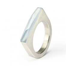 Ring CRYSTAL_blue_S