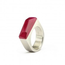 Ring CRYSTAL_ruby_L