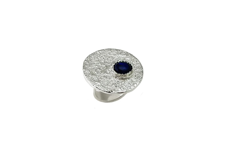 Silber Statement Ring