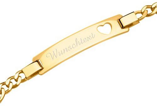 Beispiel Diamantgravur Armband