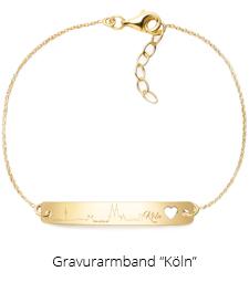 Armband mit Gravur Köln