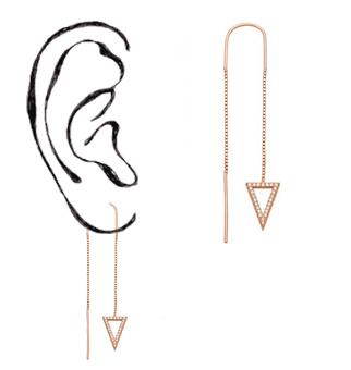Durchzieh-Ohrringe