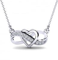 Herzkette mit Infinity