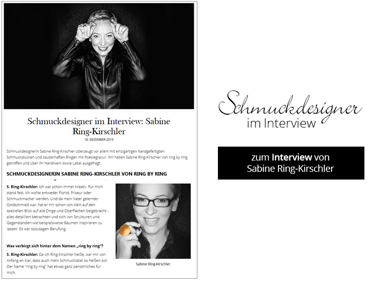 Interview Sabine Ring-Kirschler