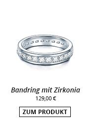 Bandring mit Zirkonia