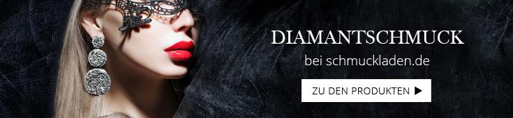 Frau mit Diamantohrringen
