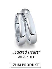 Partnerringe mit Herz Silber