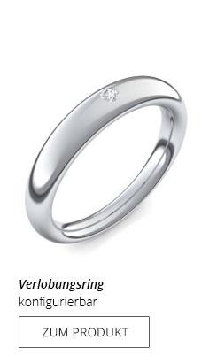 Silberring Verlobung