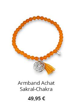 Achat Armband Sakral Chakra