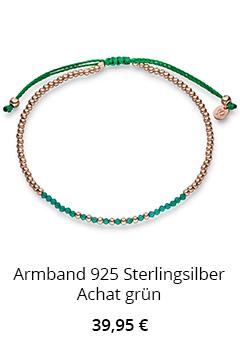 Armband mit Achat Grün