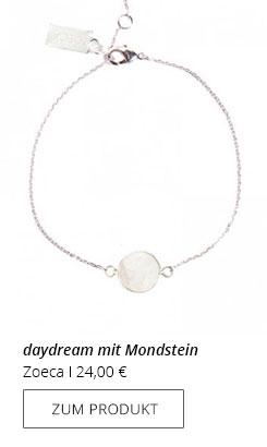 Silberarmband Edelstein