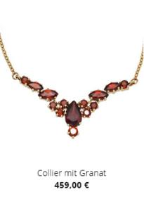 Collier mit Granat