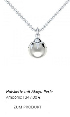 SIlberkette Perle