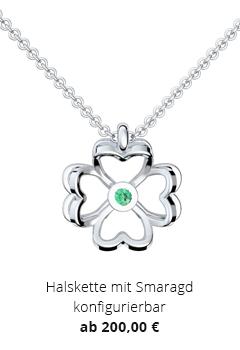 Halskette mit Smaragd