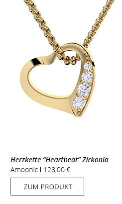 Goldkette Herz