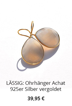 Ohrhänger mit Achat