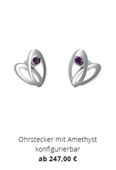 Ohrstecker mit Amethyst