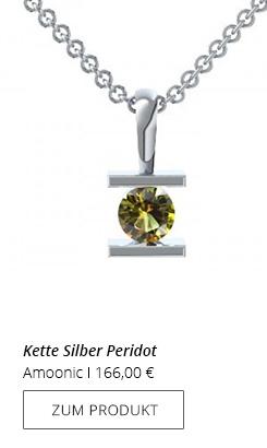 Silberkette Peridot