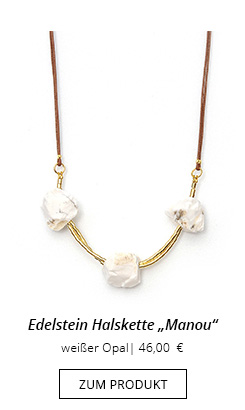 Opal Halskette Jungfrau