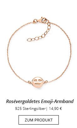 Emoji Armband rose