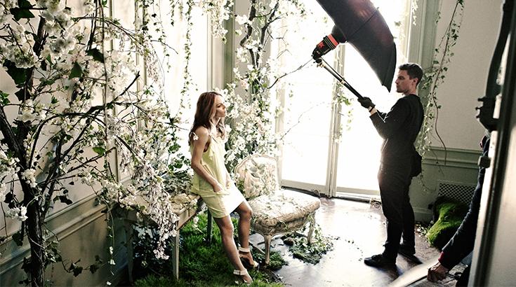 Vanessa Paradis als Gesicht der neuen Conscious Collection von H&M