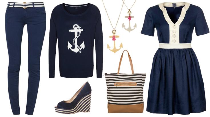 Der Marine-Look