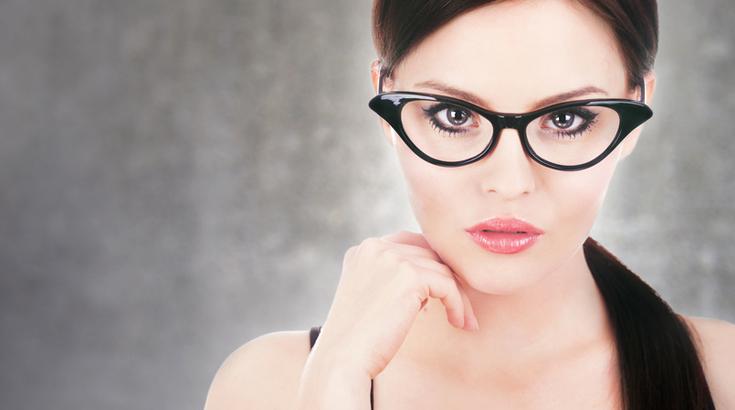 Schwer im Trend: Cat Eye Brillen