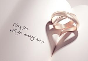 Liebe als Bedeutng von Ringen - Eheringe