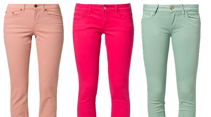 Bunte Jeans Ein Must Have, das bleibt! |