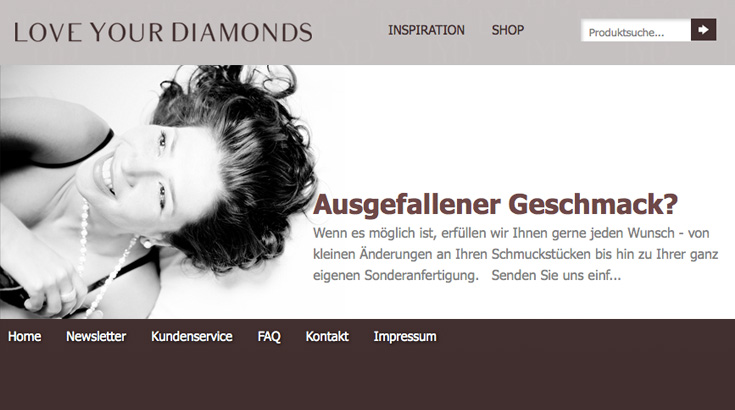 Love your Diamonds bei SchmuckLaden.de