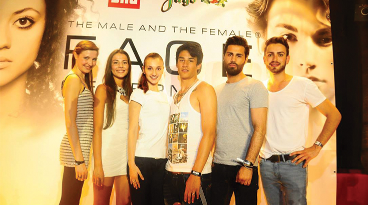 Das Face of Germany Casting in Dresden 2013
