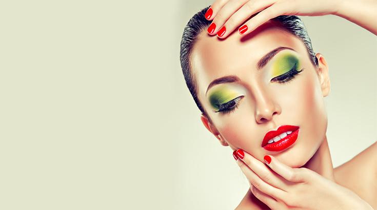 Sommerliches Make-up