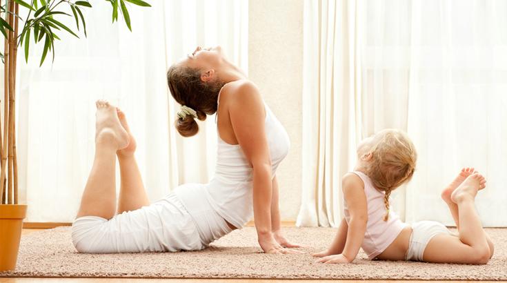 Leichte Fitnessübungen für Zuhause