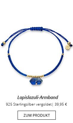 Armband Blau mit Lapislazuli
