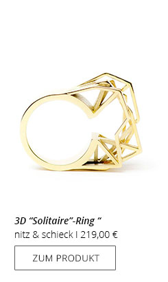 Solitaire Ring 3D