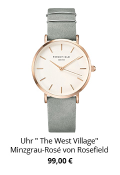 Uhr The West Village von Rosefield