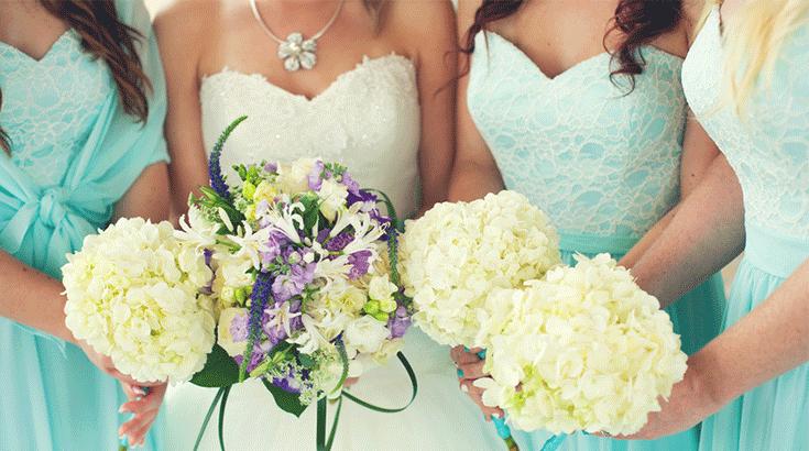 Hochzeit schmuck gaste