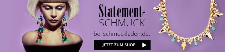 Banner Schmuckladen.de Statementschmuck online