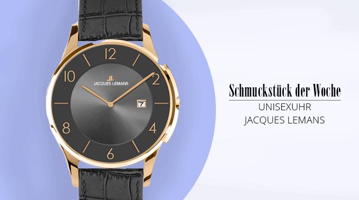 Schmuckstück der Woche: Armbanduhr von Jacques Lemans