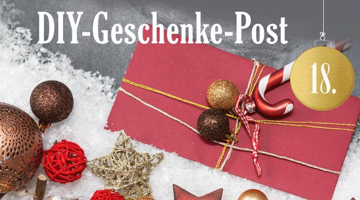 Adventskalender: Geschenke-Post fürs ganze Jahr (DIY)