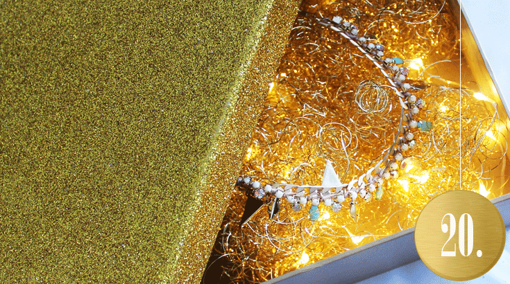 Adventskalender: Leuchtende Geschenke-Box (DIY)