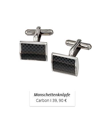 Manschettenknöpfe_Carbon