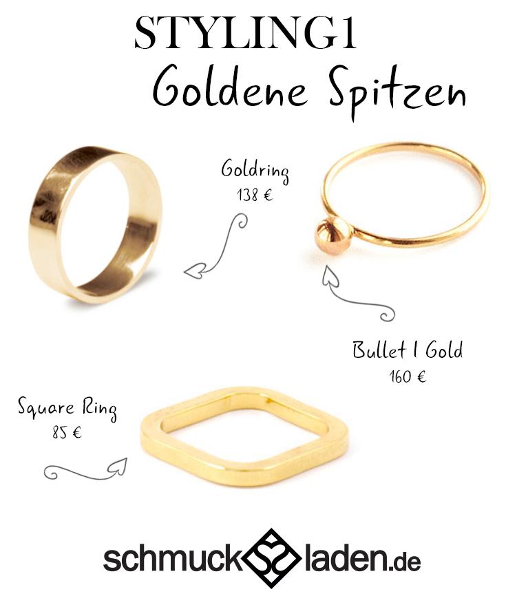 Goldschmuck trend 2015