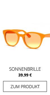 Sonnenbrille-gelb