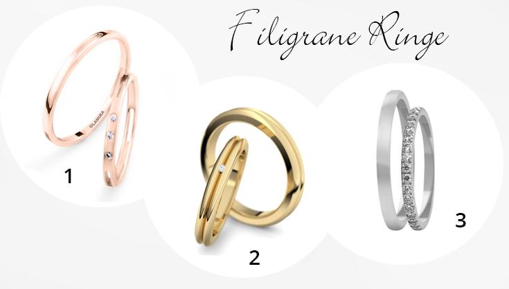 Slim Trust Eheringe, 280,00 € I 2 Treasure, 1475,00 € I 3 Eheringe ...